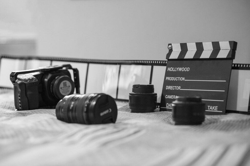 cinema, gear, camera