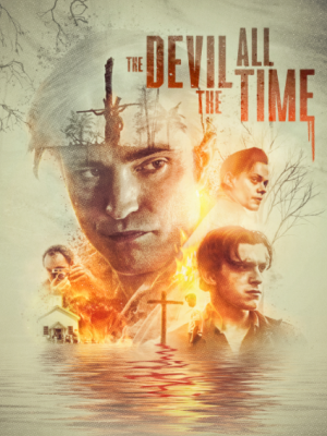 THE DEVIL ALL THE TIME film kapak fotoğrafı