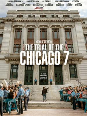 THE TRIAL OF THE CHICAGO 7 film kapak fotoğrafı