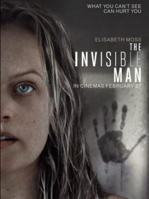 THE INVISIBLE MAN film kapak fotoğrafı
