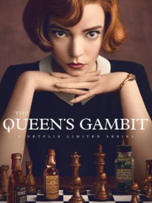 THE QUEEN'S GAMBIT dizi kapak fotoğrafı